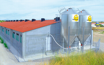 Feed level management in silos | Control of livestock feed