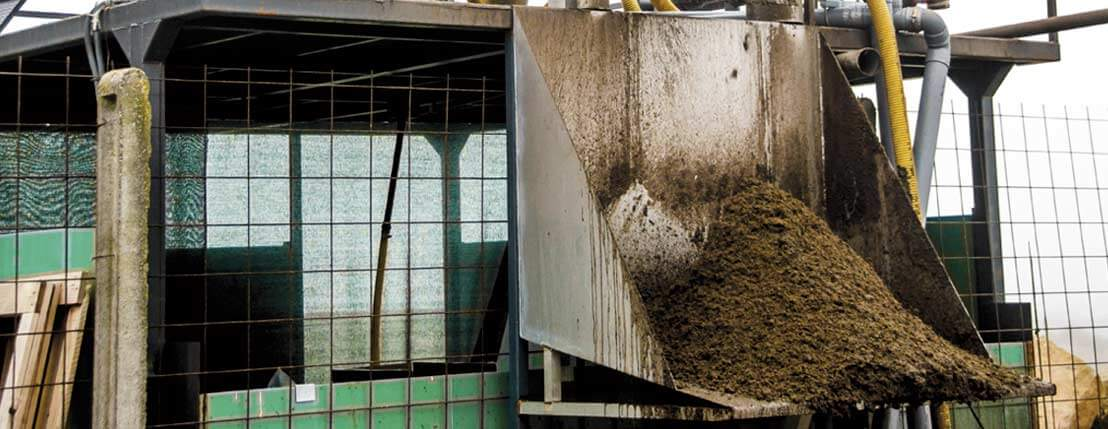 The cheapest and most efficient solution for separating slurry