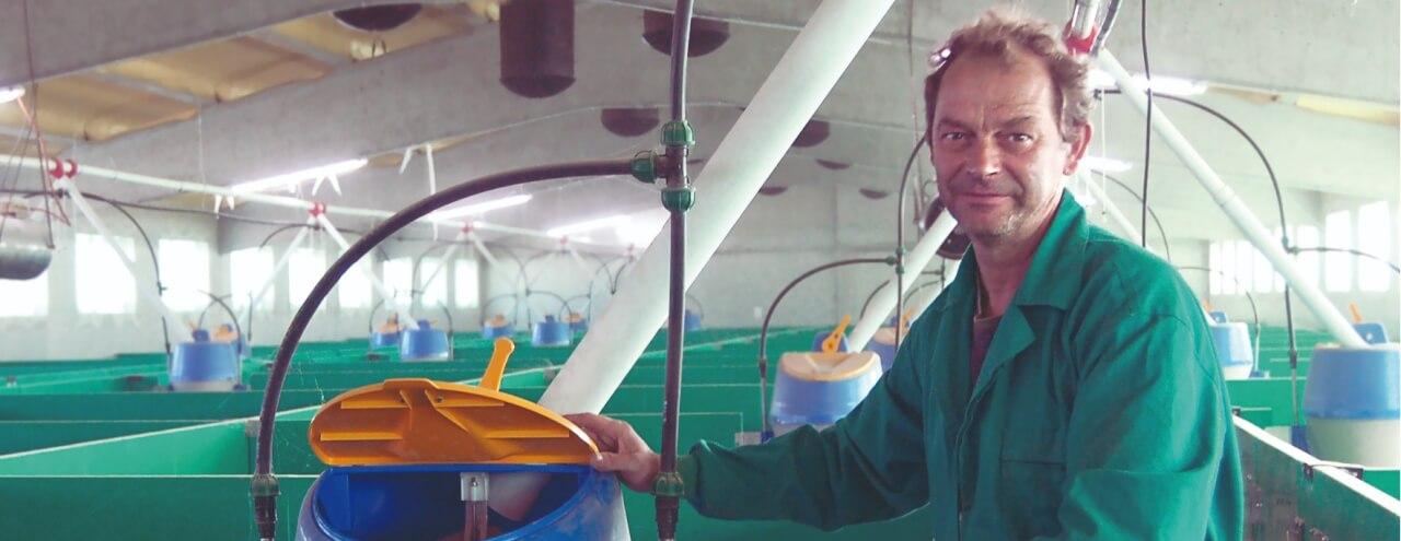 """Ignasi Culleré: """"Treballar amb els panells suposa un important estalvi en temps i aigua"""""""