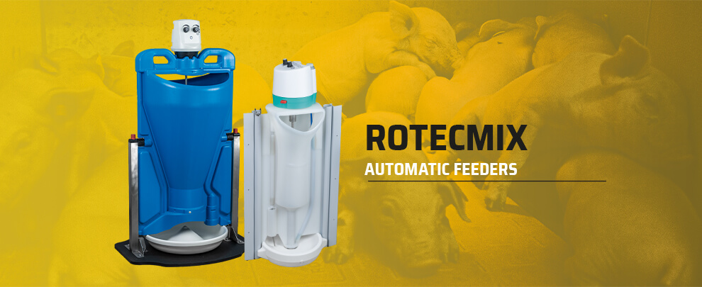New Rotecmix automatic feeders