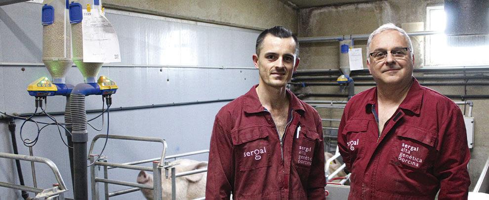 """Ramon Farré: """"Con el Dositronic M las cerdas producen más leche y los lechones crecen una media de medio kilo más"""""""