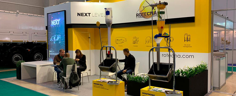 Rotecna attends MVC fair in Moscow