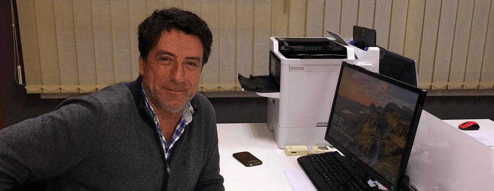 """Eduard Bifet: """"El proceso más repetido en granjas de engorde es la instalación de la tradicional tolva de Rotecna"""""""