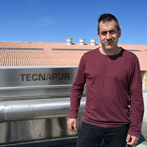 """Antonio Cassanyé: """"The Tecnapur system is very versatile and has a low handling cost"""""""