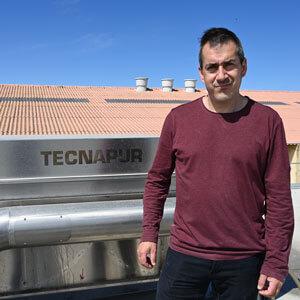 """Antonio Cassanyé: """"Tecnapur és fàcil d'utilitzar i té un cost de maneig baix"""""""