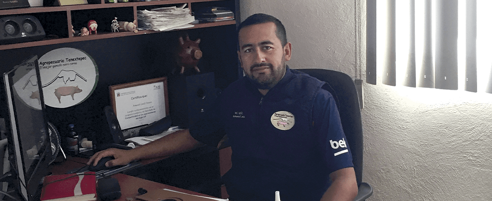 """Armando Landa, Mèxic: """"Amb la Swing R3 hem millorat la conversió alimentícia"""""""