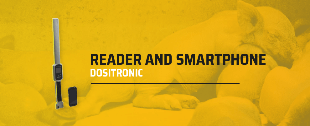 New reader and smartphone for Dositronic