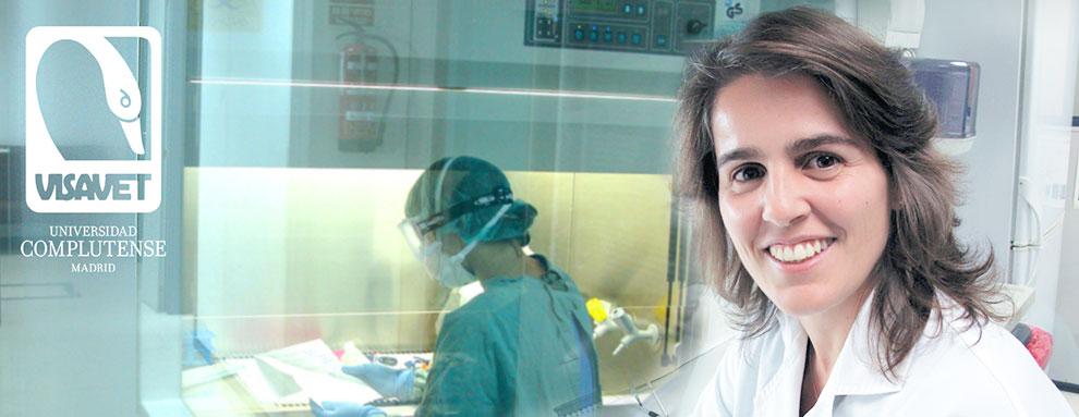 """Lucía de Juan Ferré: """"Trabajamos en estrategias encaminadas a una reducción de antibióticos"""""""