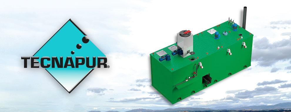 Reactor fisicoquímico - Fase II del sistema de tratamiento de purines TECNAPUR