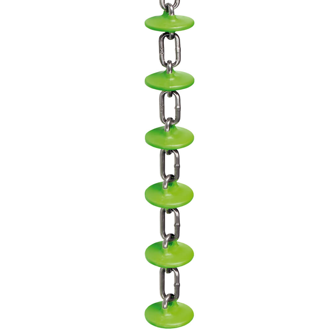 Rotecna green chain for feed distribution