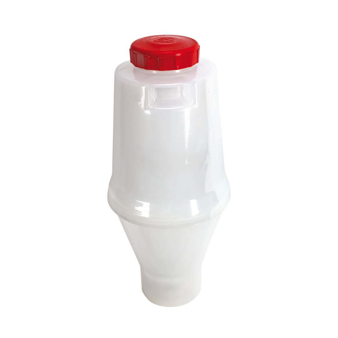El Maxitainer disposa d'un dipòsit de gran capacitat amb una ampla boca d'entrada