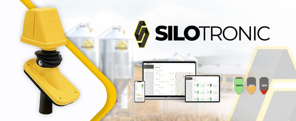 Новая система контроля содержимого силоса Silotronic