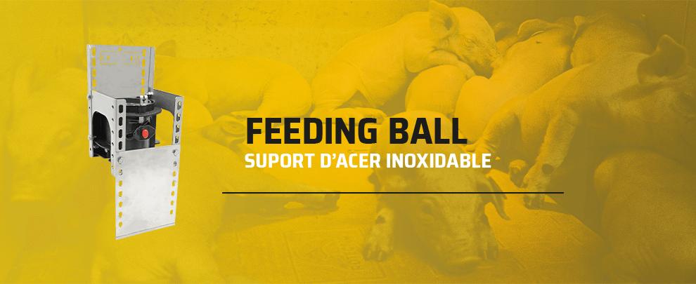 Nous suports per Feeding Ball