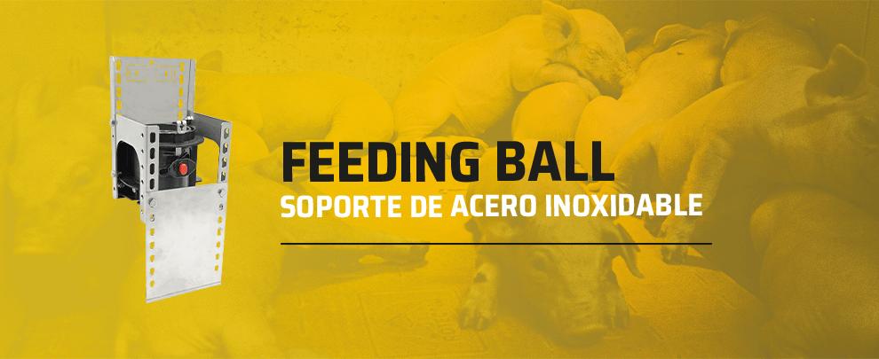 Rotecna amplia la gama de accesorios del Feeding Ball con nuevos soportes